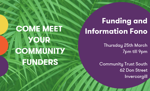 Community Funders Funding and Information Fono